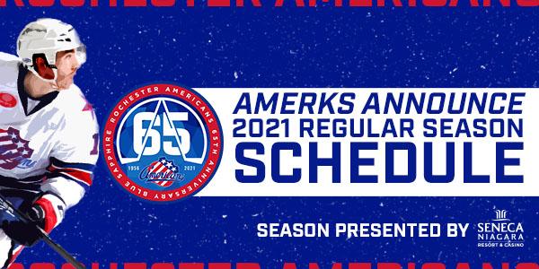 Amerks Announce 2021 Regular Season Schedule